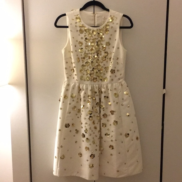 de612a133e0 kate spade Dresses   Skirts - Kate Spade Scattered Daisy Sequin Dress